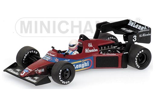 400840003 MINICHAMPS TYRRELL FORD 012 BRUNDLE 1984