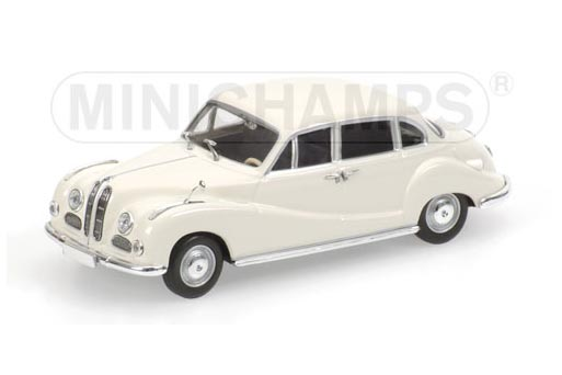 430022406 MINICHAMPS BMW 502 - 1953 - CREAM