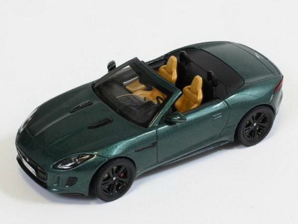43014 TRIPLE 9 COLLECTION Jaguar F-Type V8 S - green2013