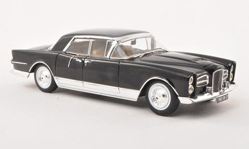 43031 TRIPLE 9 COLLECTION Facel-Vega Excellence - black/silver underline1960
