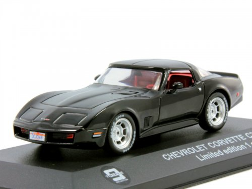 43032 TRIPLE 9 COLLECTION CHEVROLET Corvette C3 1980 черный