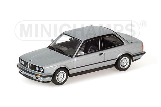 431024001 MINICHAMPS BMW 3-SERIES 1989 SILVER