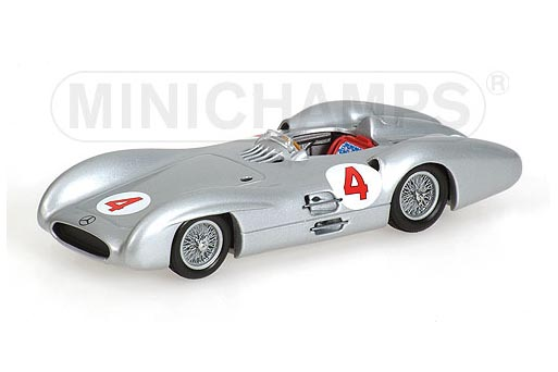 432543004 MINICHAMPS Mercedes W196 BerlineGP 1954 Winner