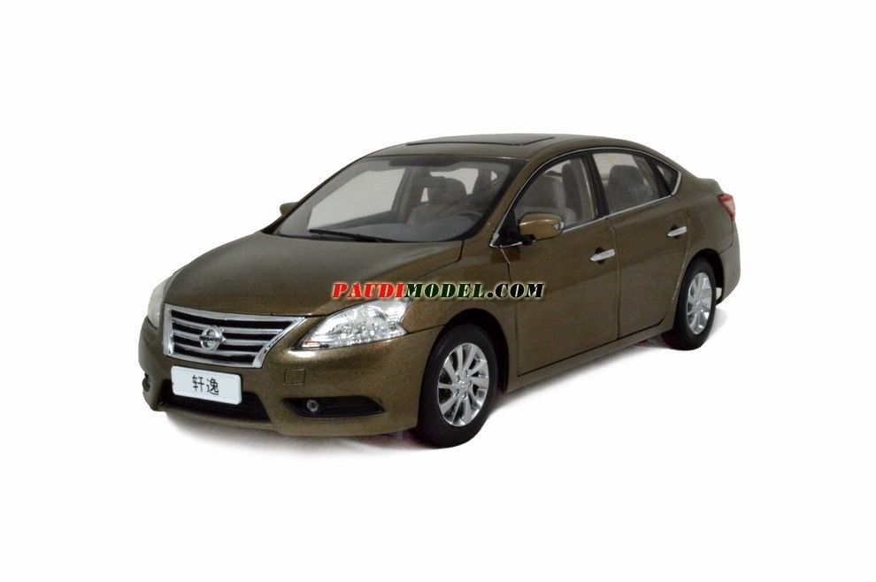 4355GL PAUDIMODEL Nissan Sylphy 2010 Gold