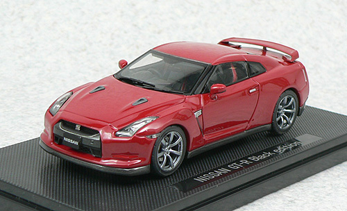 44103 EBBRO NISSAN GT-R BLACK EDITION R35 2007 (red)