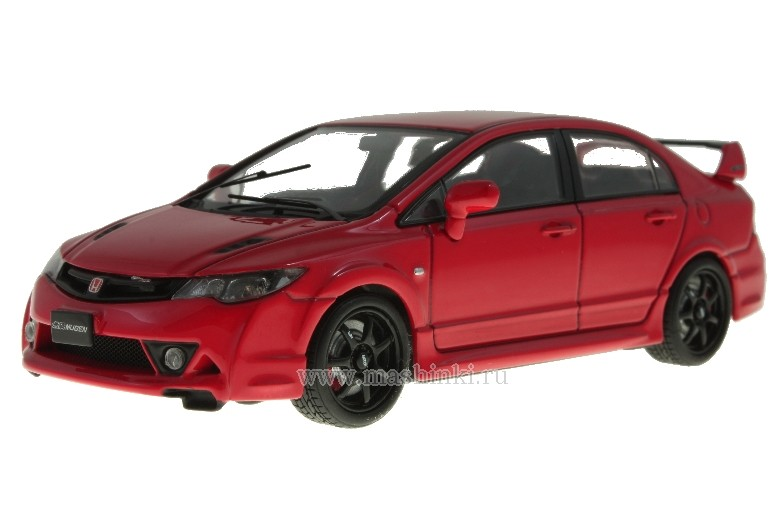 44296R EBBRO Honda Civic Mugen RR 2007 (Red)