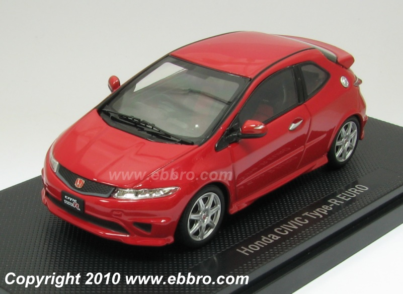 44310 EBBRO HONDA CIVIC TYPE-R EURO JAPAN 2009 (red)