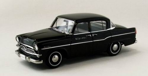 44880 EBBRO Toyopet Crown RS21 TAXI - black 1958