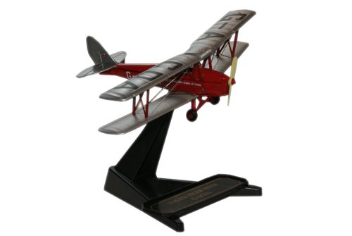 72TM003 OXFORD DH-82A «Tiger Moth» G-ACDA De Havilland Flying Club1952-1:72