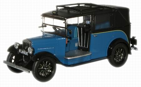 AT002 OXFORD AUSTIN LOW LOADER TAXI 1934 (blue)