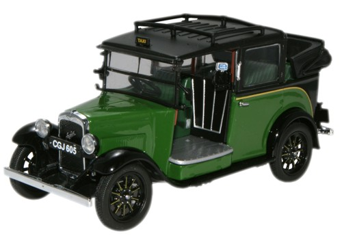 AT005 OXFORD AUSTIN LOW LOADER taxi 1934 (green)