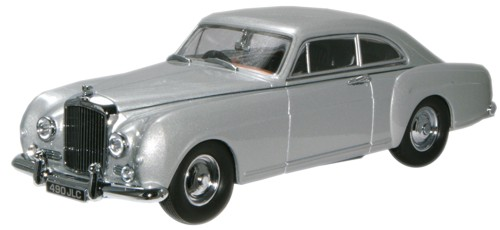 BCF001 OXFORD BENTLEY S1 CONTINENTAL FASTBACK 1956 (shell grey)