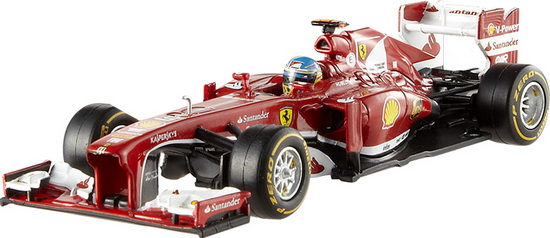 BCK16 MATTEL HOT WHEELS Ferrari F1 2013 F138 Fernando Alonso