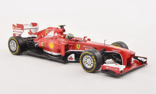 BCK17 MATTEL HOT WHEELS Ferrari F1 2013 F138 Felipe Massa #4