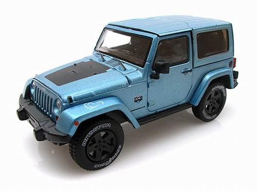 GL86031 GREENLIGHT Jeep Wrangler 4x4 Rubicon 2012 Arctic Special Edition