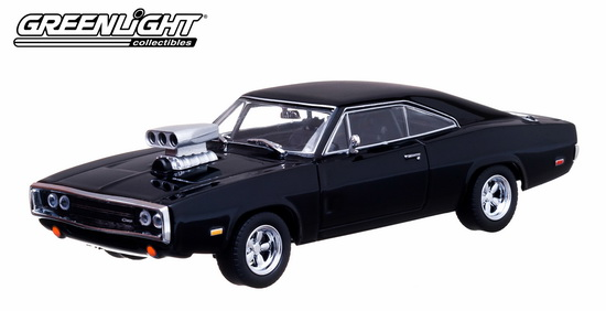 GL86201 GREENLIGHT DODGE CHARGER R/T Blown Engine 1970 (из к/ф ''Форсаж'')