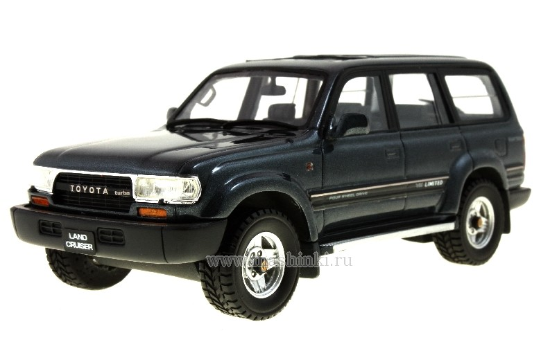 HS032GR HI-STORY Toyota Land Cruiser 80 1992 (Dark grey)