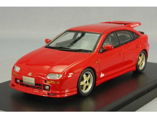 HS071RE HI-STORY MAZDA Lantis Cpe Type-R A-Spec MSpeed (Mazda 323) 1994 Red