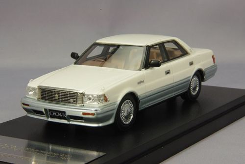 HS080WH HI-STORY TOYOTA Crown HT 4000 Royal Saloon G White-1991