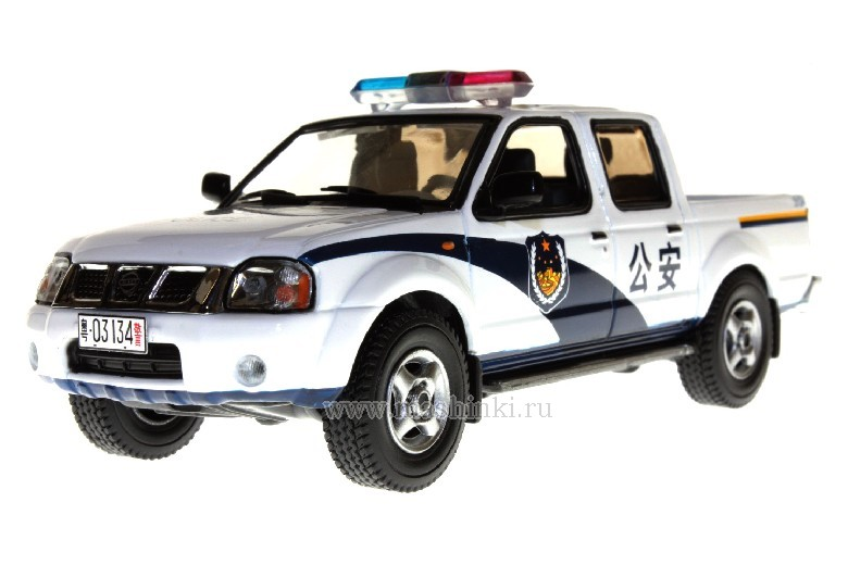 JC076 J-COLLECTION NISSAN PICK-UP CHINA  POLICE 2002