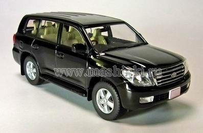 JCP69002B J-COLLECTION TOYOTA LAND CRUISER 200 (black)