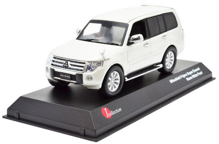 JCP81001WH J-COLLECTION Mitsubishi Pajero Long Super Exceed White