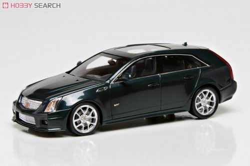 LC100945 LUXURY COLLECTIBLES CADILLAC CTS SPORT WAGON 2011 (black raven)