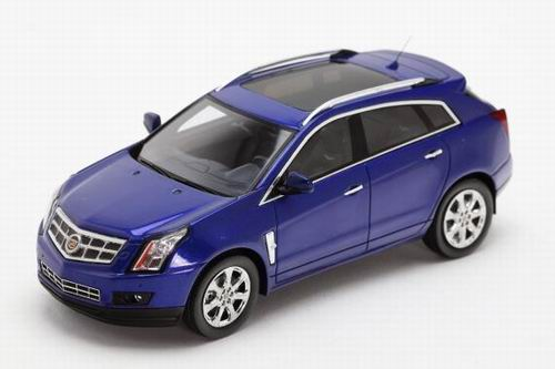 LC100952 LUXURY COLLECTIBLES CADILLAC SRX 2011 (imperial blue)
