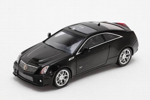 LC101027 LUXURY COLLECTIBLES CADILLAC CTS-V COUPE 2011 (black raven)
