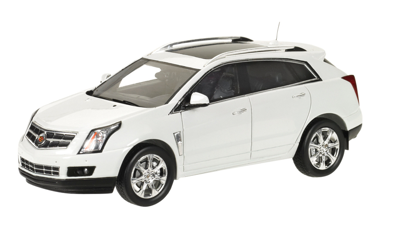 LC101096 LUXURY COLLECTIBLES CADILLAC SRX 2011 (platinum ice)