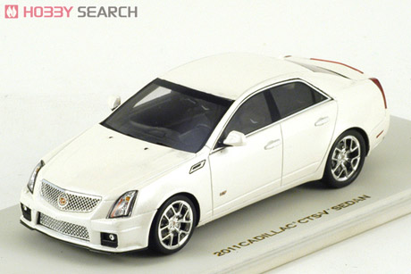 LC101188 LUXURY COLLECTIBLES CADILLAC CTS-V SEDAN 2011 (white diamond)