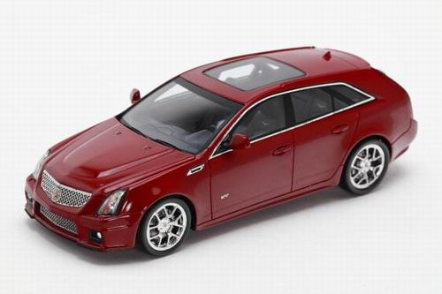 LC101249 LUXURY COLLECTIBLES CADILLAC CTS-V WAGON 2011 (crystal red)
