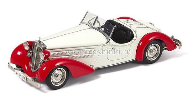 M-075C CMC AUDI 225 FRONT ROADSTER 1935 (red/white)