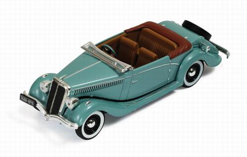 MUS038 IXO (MUS) SALMSON S4E 1938 (metallic green/brown interiors)