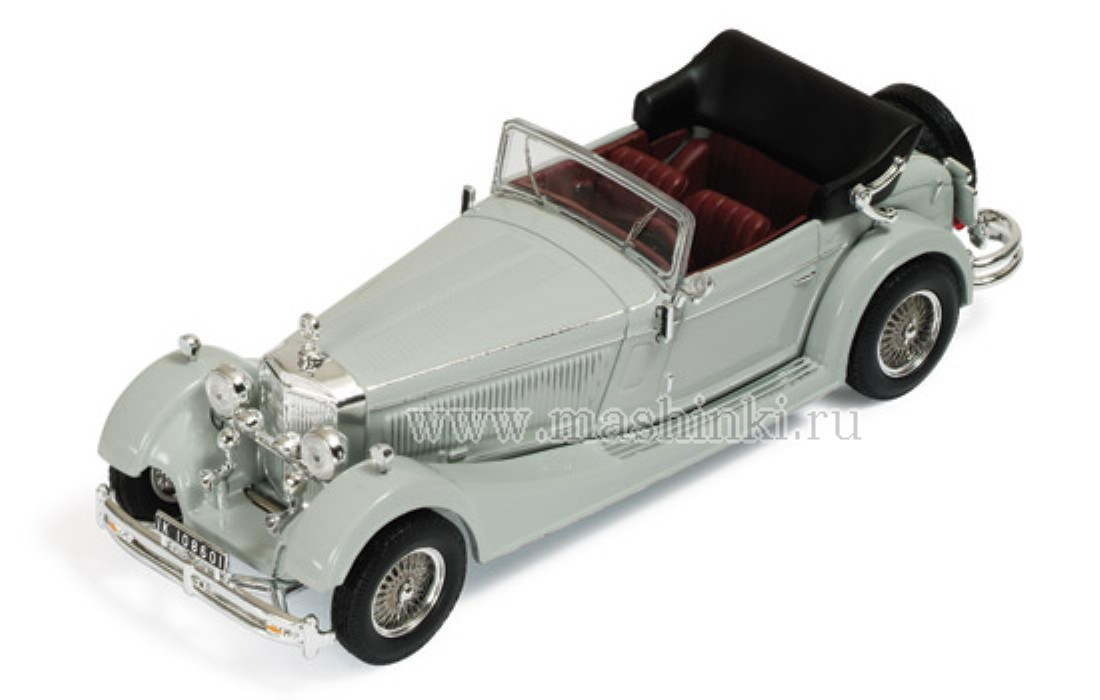 MUS044 IXO (MUS) MERCEDES-BENZ SS 1933 (grey)