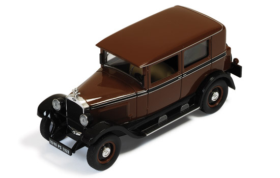 MUS056 IXO (MUS) Opel 10/40 Model 80 - Brown/Black-1928