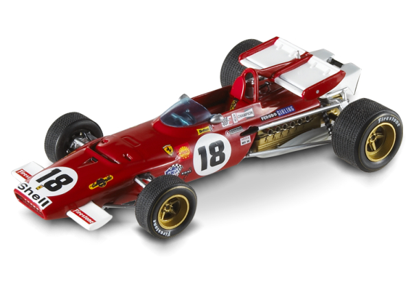 N5588 MATTEL HOT WHEELS Ferrari 312 B 1970 Ickx No.18, GP Canada1970