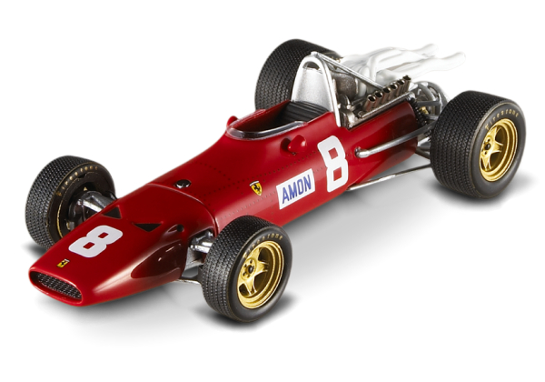N5589 MATTEL HOT WHEELS Ferrari 312 F1-67 GP UK SILVERSTONE 1967 C.AMON