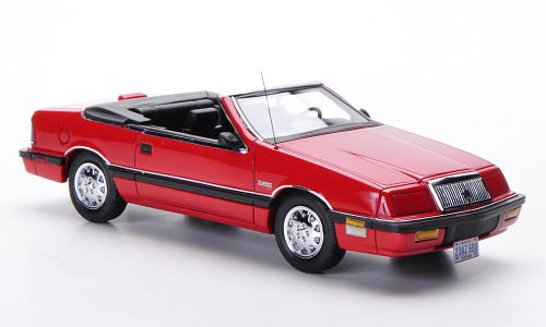 NEO44990 NEO CHRYSLER LeBaron Convertible 1990 Red