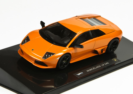 P4884 HOT  WHEELS Lamborghini LP 640 orange