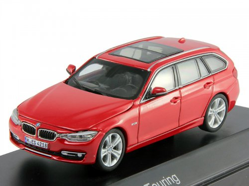 PA-91032 PARAGON MODELS BMW 3 Series Touring F31 2012 красный