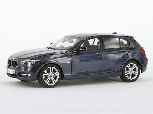 PA-97005 PARAGON MODELS BMW 1 Series Midnight Blue