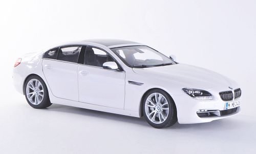 PA-97032 PARAGON MODELS BMW 6 Series Gran Coupe Alpine White