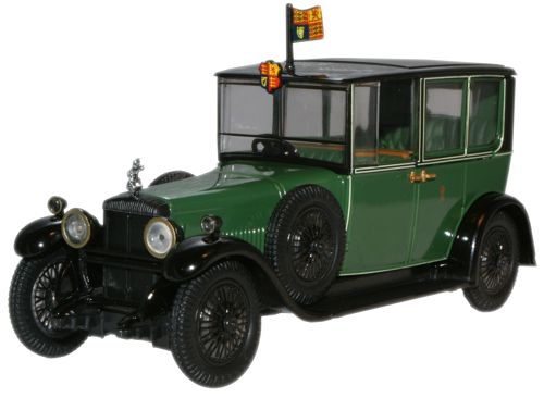 RD002 OXFORD DAIMLER BROUGHAM V-30 HP DOUBLE SIX ENGINE КОРОЛЕВЫ МАРИИ 1929