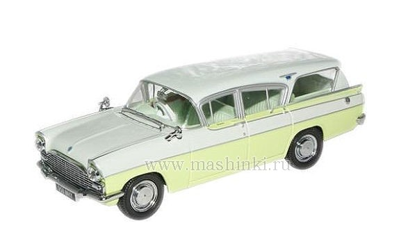 VFE004 OXFORD VAUXHALL CRESTA FRIARY estate swan 1961 (white/lime)