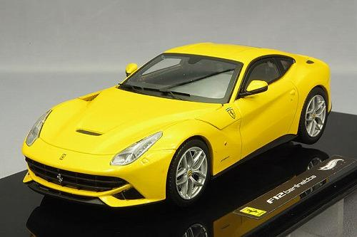 X5500 HOT  WHEELS Ferrari F12 Berlinetta - yellow-2012
