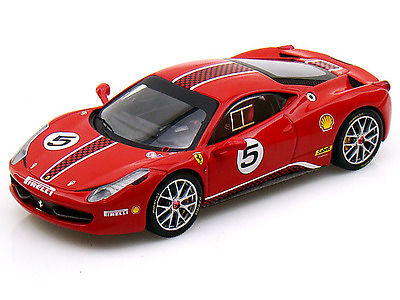 X5504 HOT  WHEELS Ferrari 458 Italia Challenge #5
