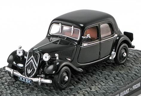 jb40 JAMES BOND 007 Citroen Traction Avant James Bond 007 «From Russia with Love»