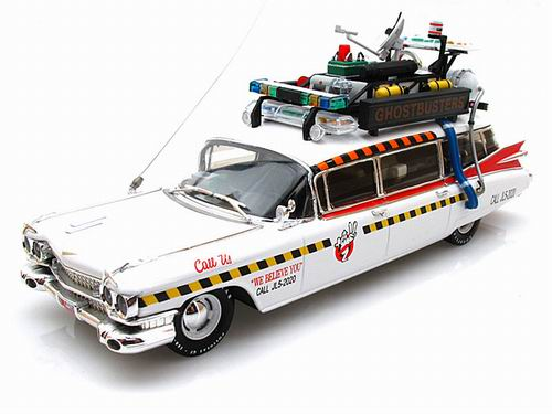x5495 MATTEL HOT WHEELS Cadillac Ecto 1A Ghostbusters (часть II)