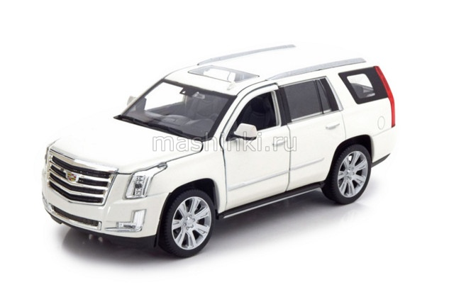 24084WH 03+ WELLY WELLY 1/24 CADILLAC Escalade 4х4 2016 white